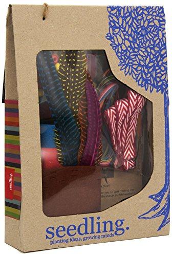 seedling- CREA tu Tocado de Plumas Indio, Multicolor (S12CYOIH)