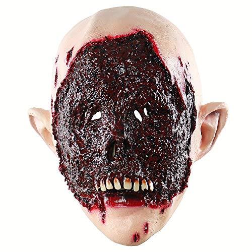 Adulto Creepy Sangre Cara Horror Máscara Zombie Látex Scary Extremadamente...