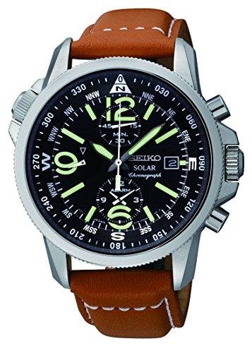Seiko Men's SSC081 Adventure-Solar Classic...