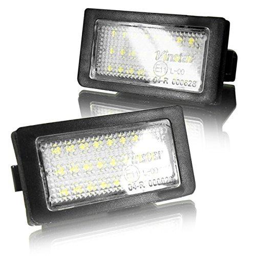 LED Kennzeichenbeleuchtung Canbus Module mit E-Zulassung V-030114