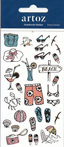 Artoz Nylon Stickers Notebook Sticker 185670-02