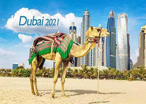 Edition Seidel Dubai Premium Kalender 2021 DIN A3 Wandkalender Asien
