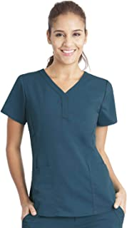 Purple Label Women's Jane 2167 V-Neck 2 Pocket Top Scrubs