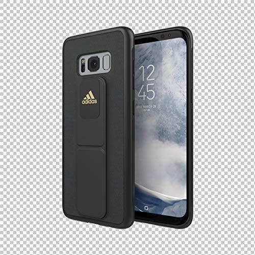adidas Sports Phone Case Grip Case/Handyhülle Griffband Schutzhülle kompatibel mit Samsung Galaxy S8 - Black/Schwarz
