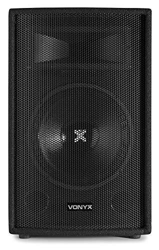 500W Skytec 25cm (10 Zoll) Passiv-Monitor Box Lautsprecher Flansch