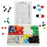 YOPAY 240 Pack Molecular Model Kit, Organic and Inorganic Chemistry Molecular Structure Model, 86 Atoms and 153 Links and 1 Short Link Remover Tool
