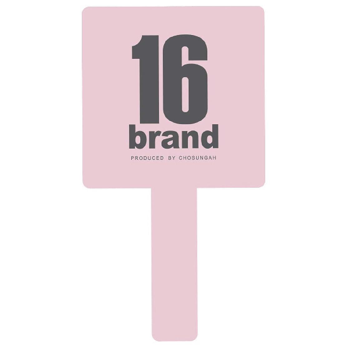 印刷する事前ソート16brand(シックスティーンブランド) GANGS HAND MIRROR(ギャングス ハンドミラー) BABY PINK (1個)