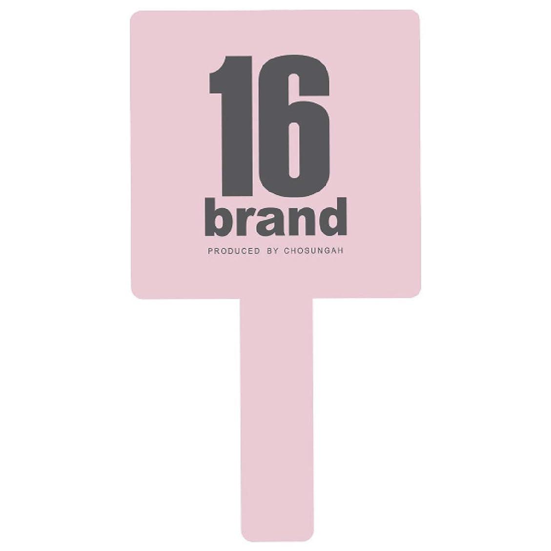 共感する説得冊子16brand(シックスティーンブランド) GANGS HAND MIRROR(ギャングス ハンドミラー) BABY PINK (1個)