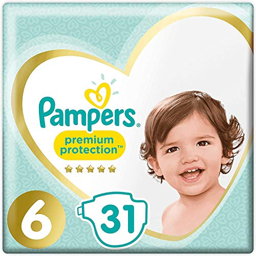 Pampers Premium Schutz Größe 6 Essential Pack 31 Windeln
