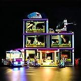 HYQX Kit de luces LED para Lego 41318 Friends Heartlake Hospital, luces de iluminación compatible con Lego 41318 (juego de luces LED solamente, sin kit de lego)