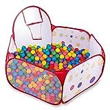 Cozywind Piscine à Balles avec Panier pour Bébé Enfants Intérieur & Extérieur Aire de Jeux Imperméable (Balles Non Comprises) (1.5m)