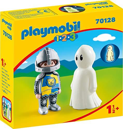 PLAYMOBIL 70128 1.2.3 Ritter mit Gespenst, ab 18 Monaten, bunt, one Size