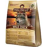 WOLFSBLUT Trockenfutter WILD DUCK Ente + Kartoffel Adult für Hunde...