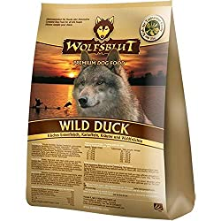 WOLFSBLUT Dry Food WILD DUCK Duck + Potato Adult for dogs 15,0 kg