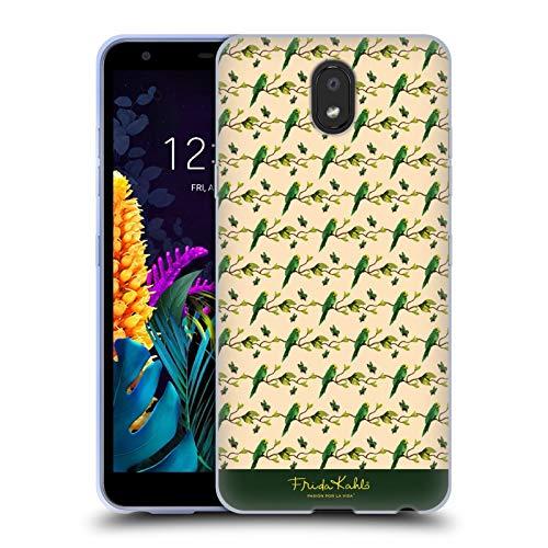 Officiële Frida Kahlo Kruid Tropisch Soft Gel Case Compatibel voor LG K30 (2019)