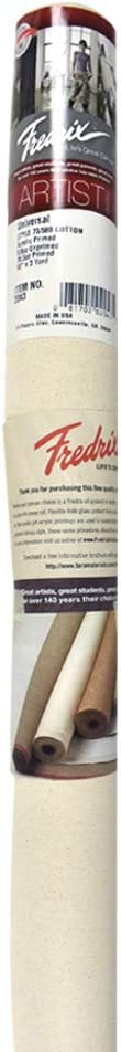 Fredrix T2043 53 x Price reduction 3yd Primed Canvas Acrylic Cotton Kansas City Mall