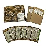 Té de hierbas casero - Semillas- Set de regalo con 6 de estas clásicas hierbas para té