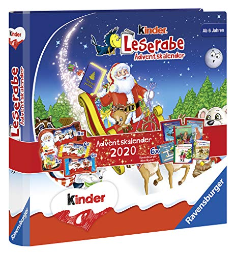 kinder Mix Adventskalender Leserabe, 109 g