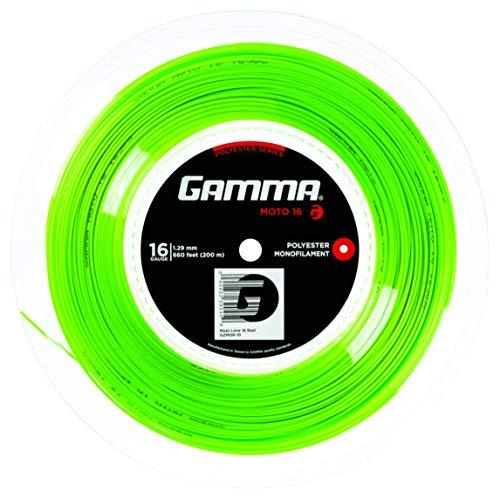 Gamma Corde Rotolo di Moto, Lime, 200 m, 1455270001100015