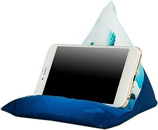 Houder voor tablet-kussen, zacht bed, kussen, universeel, telefoonstandaard, meerdere hoeken, zacht kussen, past op de mee...