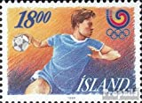 Islande 688 (complète.Edition.) 1988 Jeux Olympiques Été (Timbres pour Les collectionneurs) Basket-Ball/Volley-Ball/Handball