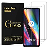 ivoler 3 Unidades Protector de Pantalla para Motorola Moto G 5G Plus, Cristal Vidrio Templado Premium para Motorola Moto G 5G Plus