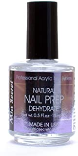 Mia Secret Professional Natural Nail Prep Dehydrate 0.5 Fl Oz. 15 Mle.