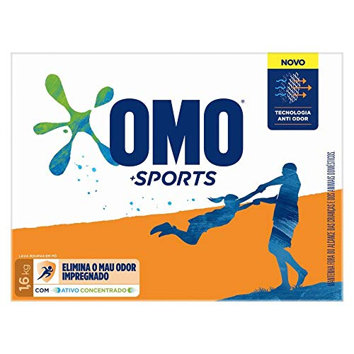 Sabão em Pó Omo Sports 1.6kg