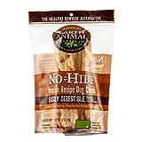 Earth Animal No-Hide Grass-Fed Venison Medium Natural Rawhide Alternative Dog Chews, 2-Count