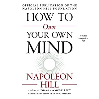 How to Own Your Own Mind audiobook cover art