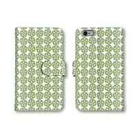 【ノーブランド品】 Xperia Z3 Compact SO-02G スマホケース 手帳型 野菜 切り口 ピーマン グリーン 緑色 かわいい おしゃれ 携帯カバー SO-02G ケース エクスぺリア