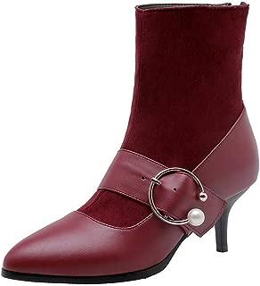 BalaMasa Womens ABS14174 Pu Boots