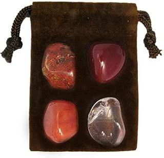 Gemstone ZODIAC KIT Crystal Healing Set - LEO