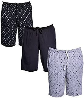 VIMAL JONNEY Multicolor Cotton Blended Bermuda Shorts for Men(Pack of 3)-D12-PRTB_BL_PRTM_03-P