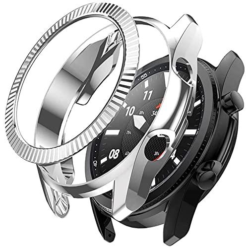Miimall[1 + 1 pieza compatible con Samsung Galaxy Watch 3 41 mm...