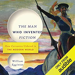 The Man Who Invented Fiction audiobook cover art