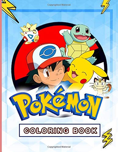 Pokemon Coloring Book: Premium Pokemon Adult Coloring Books. Relaxing