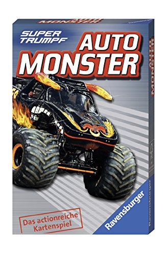 Ravensburger Kinderkartenspiele 20304 - Auto Monster