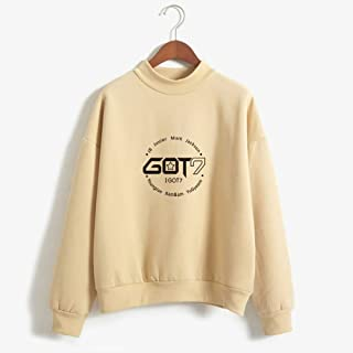 GOT7 Long Sleeve Pullovers, Sweatshirt Colorful Baggy Tops, Long Sleeve Casual Sweatshirt, Clothes Teens Girls Boys