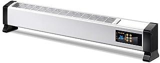 Calentadores JinXQ Radiador eléctrico línea de Calefactor Control Remoto del hogar eléctrico Ahorro de energía Oficina de Ahorro de energía Blanco (Color : Blanco)