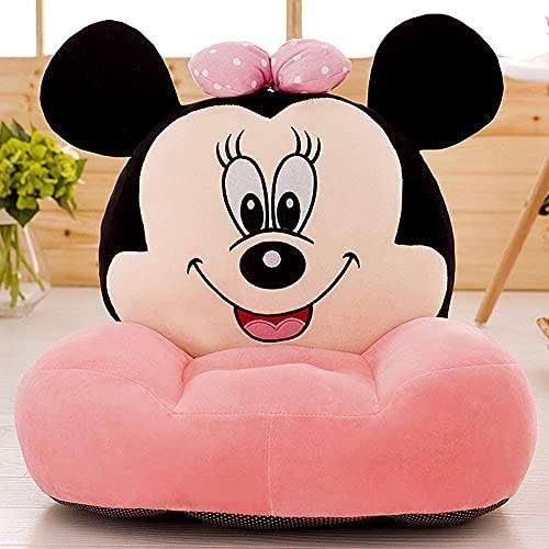 SillóN Infantil Espuma Dibujos animados niño pequeño sofá mickey ratón peluche juguetes niño pequeño asiento cómodo soft sofá plegable sofá bebé asiento bebé cumpleaños regalos de cumpleaños de los ni