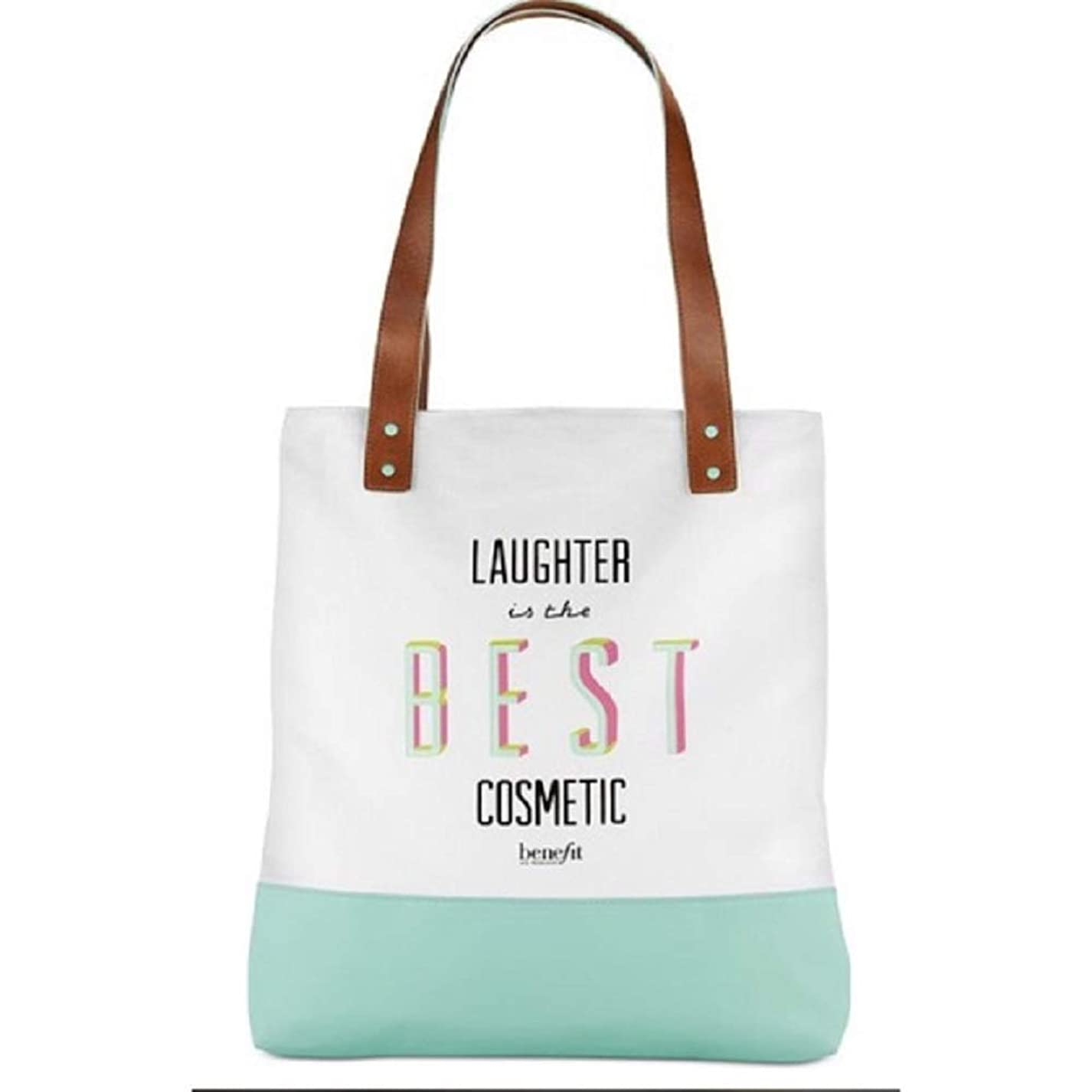 モディッシュ形容詞健康的Benefit Cosmetics Large Canvas Tote Bag 16