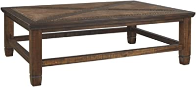 Signature Design by Ashley - Royard Casual Coffee Table, Brown