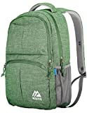 Mozone Large Lightweight Water Resistant College School Laptop Backpack Travel Bag (Green)