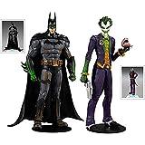 JSJJATQ Figura de acción 17cm Superhéroes Arkham Asylum Batman y Joker Dibujos Animados Figura de PV...