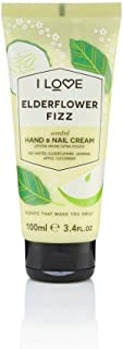 I love Hand and Nail Cream, Elder Flower Fizz - 100 ml