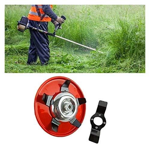 XIAOFANG Fangxia Store Doble Uso del herbicida Placa cortadora de césped Trimmer Cabeza de Corte de Hierba Desbrozadora Herramienta de Corte de la máquina