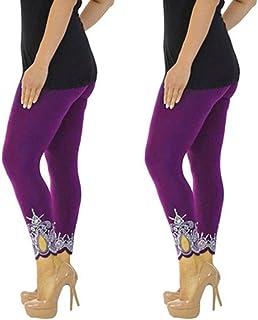 d42d0bffcd Berimaterry Fitness Gym Yoga Pants Collant Pantaloni Sportivi da Donna  Elastici, Pantaloni da Yoga di