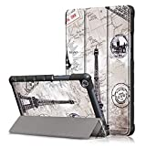 ProElite Ultra Sleek Smart Flip Case Cover for Honor Pad 5 8' (Eiffel)