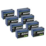 8 Pack ExpertPower 12V 10Ah Lithium LiFePO4 Deep Cycle Rechargeable Battery   2500-7000 Life Cycles...